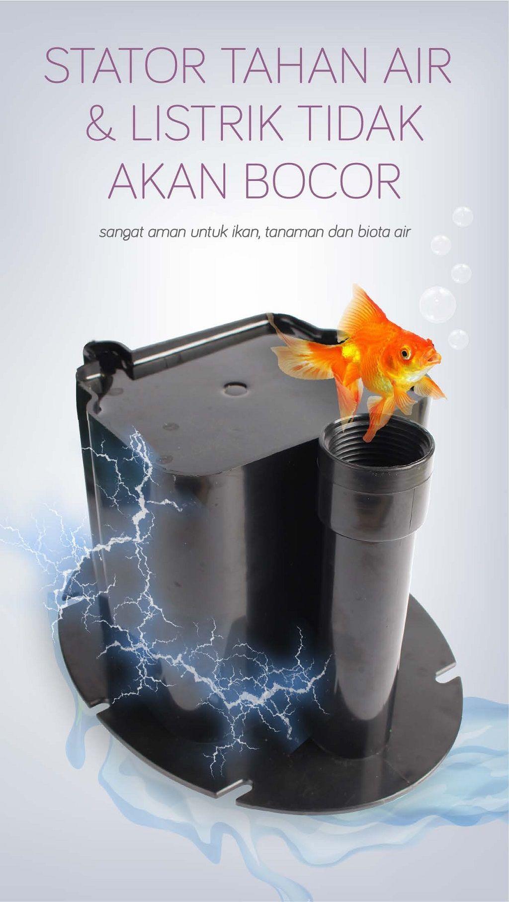 SS-F-1000 / sub. aquarium fountain pump 12w | waterplus+